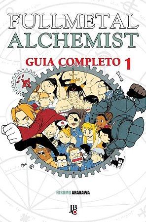 Fullmetal Alchemist - Guia Completo - Volume 01 (Item novo e lacrado)