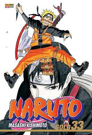 Naruto Gold - Volume 33 (Item novo e lacrado)
