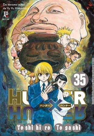 Hunter x Hunter - Volume 35 (Item novo e lacrado)