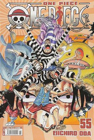 One Piece - Volume 55 (Item novo e lacrado)