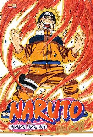 Naruto Gold - Volume 26 (Item novo e lacrado)