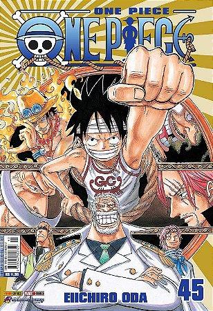 One Piece - Volume 45 (Item novo e lacrado)