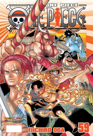 One Piece - Volume 59 (Item novo e lacrado)