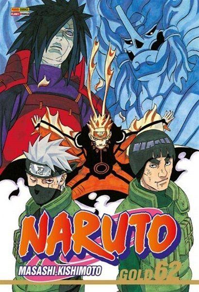 Naruto Gold - Volume 62 (Item novo e lacrado)