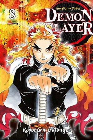 Demon Slayer : Kimetsu No Yaiba - Volume 08 (Item novo e lacrado)