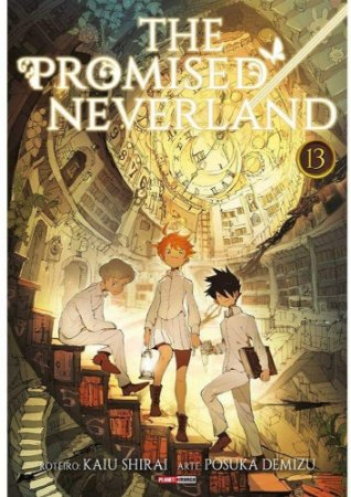 The Promised Neverland - Volume 13 (Item novo e lacrado)