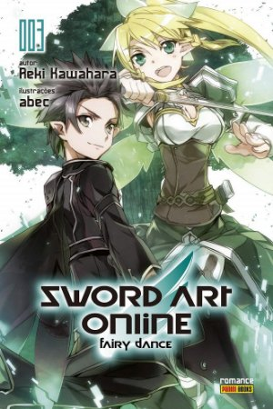 Sword Art Online (Fairy Dance) - Volume 03 (Item novo e lacrado)