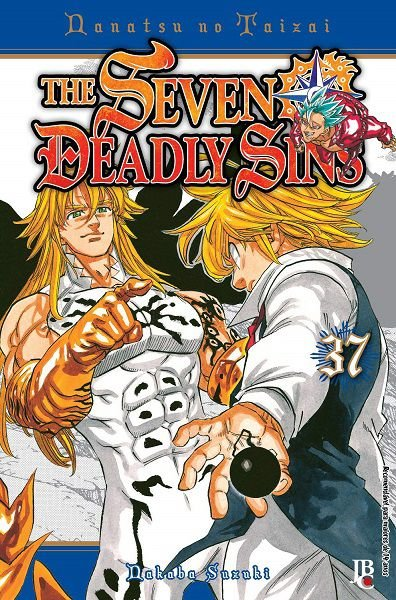 The Seven Deadly Sins - Volume 37 (Item novo e lacrado)