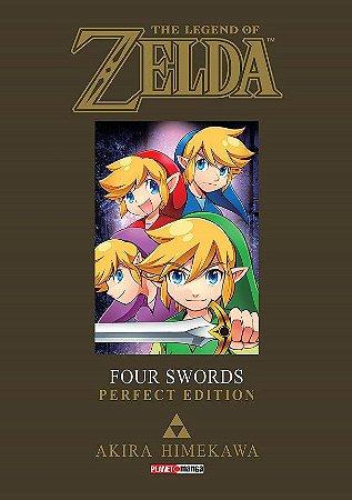 The Legend of Zelda : Four Swords (Perfect Edition) - Volume Único (Item novo e lacrado)