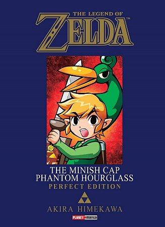 The Legend of Zelda : The Minish Cap / Phantom Hourglass (Perfect Edition) - Volume Único (Item novo e lacrado)