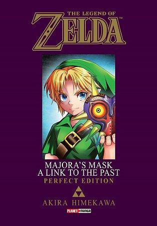 The Legend of Zelda : Majora's Mask / A Link to the Past (Perfect Edition) - Volume Único (Item novo e lacrado)