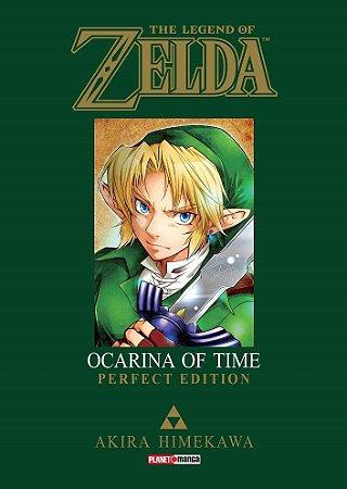 The Legend of Zelda : Ocarina of Time (Perfect Edition) - Volume Único (Item novo e lacrado)