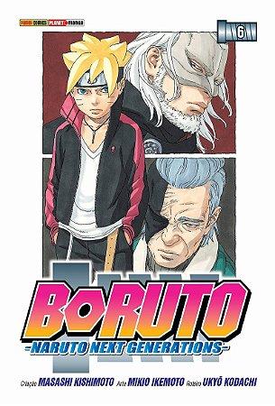 Boruto (Naruto Next Generations) - Volume 06 (Item novo e lacrado)