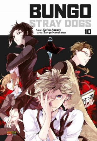 Bungo Stray Dogs - Volume 10 (Item novo e lacrado)