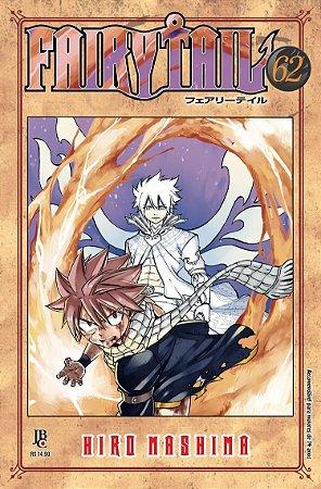 Fairy Tail - Volume 62 (Item novo e lacrado)