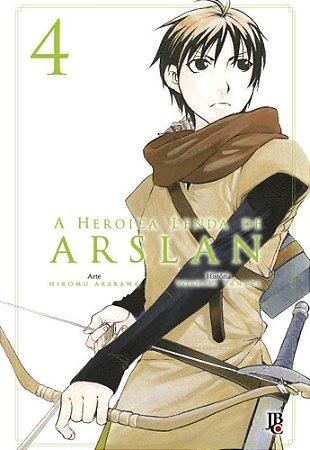 A Heroica Lenda de Arslan - Volume 04 (Item novo e lacrado)