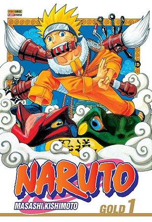 Naruto Gold - Volume 01 (Item novo e lacrado)