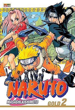 Naruto Gold - Volume 02 (Item novo e lacrado)