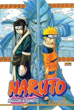 Naruto Gold - Volume 04 (Item novo e lacrado)