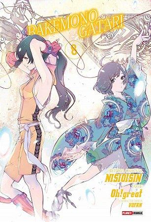 Bakemonogatari - Volume 08 (Item novo e lacrado)