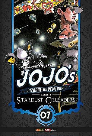 Jojo's Bizarre Adventure - Stardust Crusaders (Parte 3) - Vol. 07 (Item novo e lacrado)