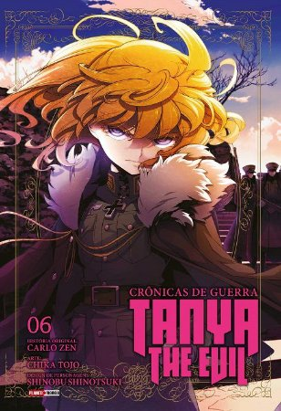 Crônicas de Guerra : Tanya The Evil - Volume 06 (Item novo e lacrado)