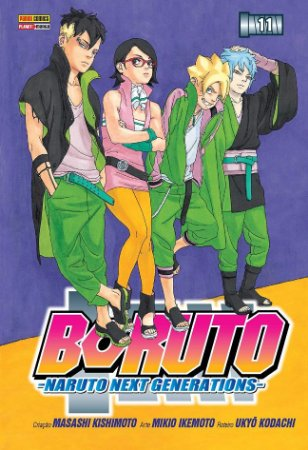 Boruto (Naruto Next Generations) - Volume 11 (Item novo e lacrado)