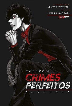 Crimes Perfeitos : Funouhan - Volume 08 (Item novo e lacrado)