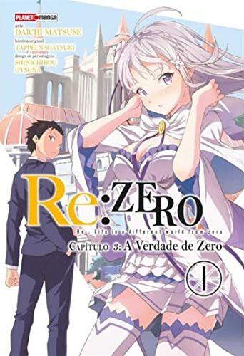 Re: Zero - Capítulo 03 : A Verdade de Zero - Volume 01 (Item novo e lacrado)