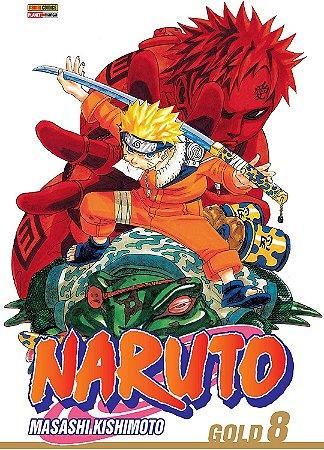 Naruto Gold - Volume 08 (Item novo e lacrado)