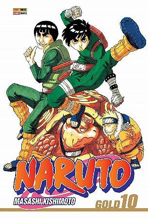 Naruto Gold - Volume 10 (Item novo e lacrado)