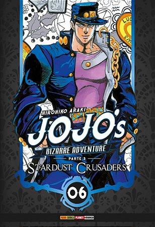 Jojo's Bizarre Adventure - Stardust Crusaders (Parte 3) - Vol. 06 (Item novo e lacrado)