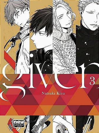 Given - Volume 03 (Item novo e lacrado)