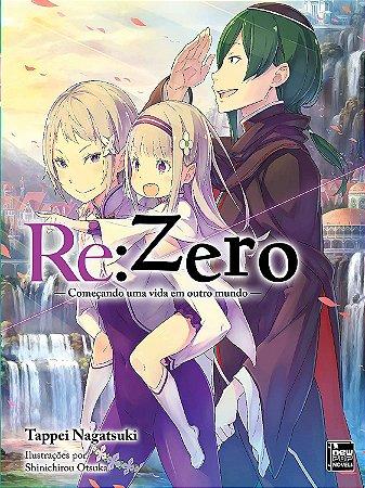 Re:Zero – Começando uma Vida em Outro Mundo - Livro 14 (Item novo e lacrado)
