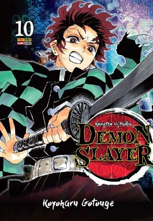 Demon Slayer : Kimetsu No Yaiba - Volume 10 (Item novo e lacrado)