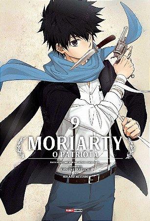 Moriarty : O Patriota - Volume 09 (Item novo e lacrado)