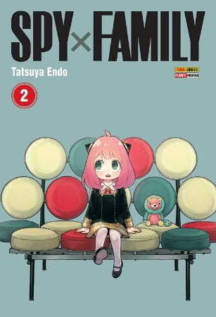 Spy x Family - Volume 02 (Item novo e lacrado)