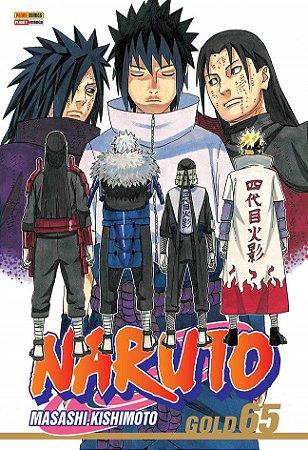 Naruto Gold - Volume 65 (Item novo e lacrado)