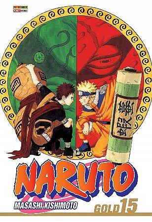 Naruto Gold - Volume 15 (Item novo e lacrado)