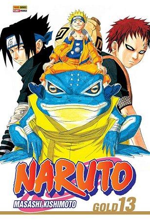 Naruto Gold - Volume 13 (Item novo e lacrado)