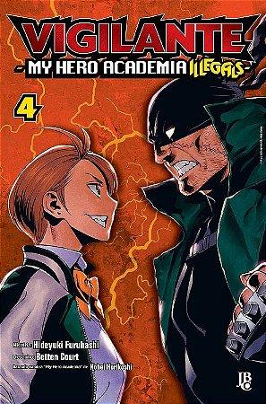 Vigilante : My Hero Academia Illegals - Volume 04 (Item novo e lacrado)
