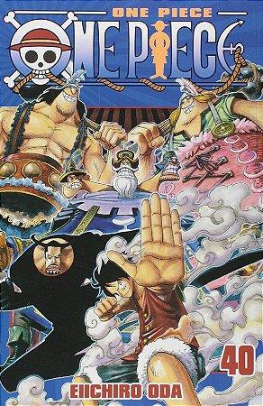 One Piece - Volume 40 (Item novo e lacrado)