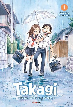 Takagi, A Mestra Das Pegadinhas - Volume 01 (Item novo e lacrado)
