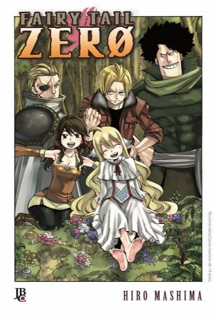 Fairy Tail - ZERO (Item novo e lacrado)