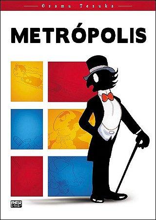 Metrópolis - Volume Único (Item novo e lacrado)