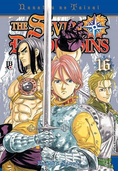 The Seven Deadly Sins - Volume 16 (Item novo e lacrado)