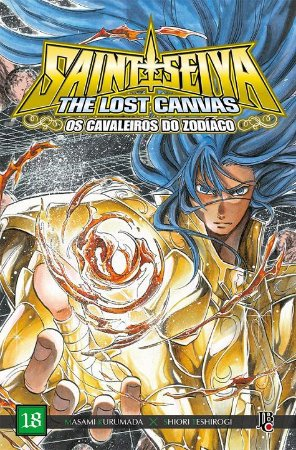 Os Cavaleiros do Zodíaco - The Lost Canvas Especial - Volume 18 (Item novo e lacrado)
