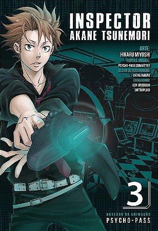 Psycho-Pass : Inspector Akane Tsunemori  - Volume 03 (Item novo e lacrado)