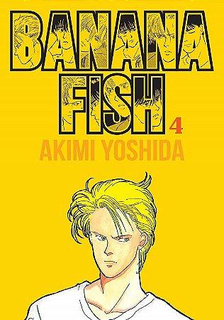 Banana Fish - Volume 04 (Item novo e lacrado)