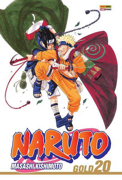 Naruto Gold - Volume 20 (Item novo e lacrado)